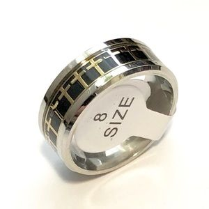 Crosses Ring, Size 8